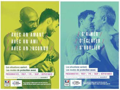 Polémica campaña contra el sida