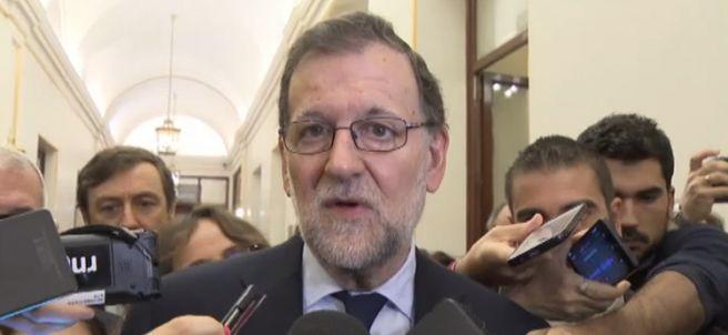 Rajoy, conteniendo las lágrimas