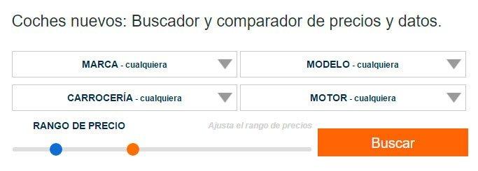Imagen del buscador de coches en 20minutos.es