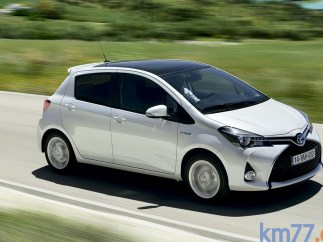 TOYOTA YARIS 5P HYBRID CITY
