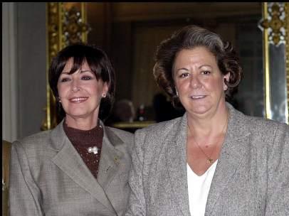 Concha Velasco y Rita Barberá