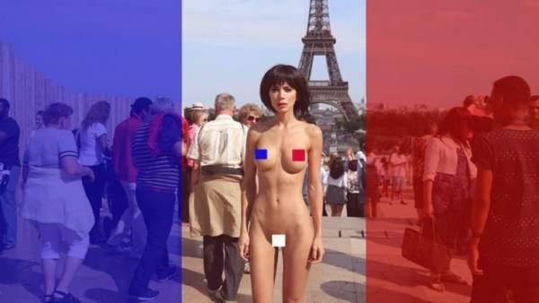 Los Desnudos Callejeros De Miló Moiré Arte Reivindicativo O