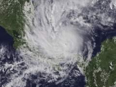El huracán Otto, a su paso por Panamá