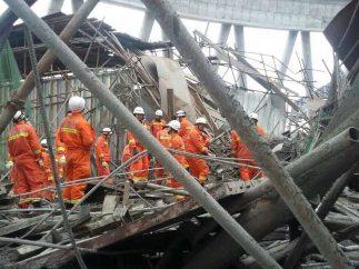 Derrumbe mortal en China