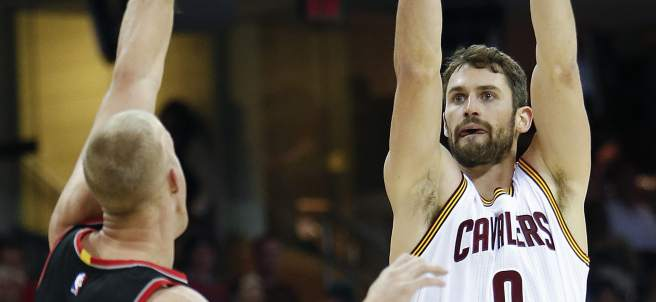 Kevin Love ante Mason Plumlee