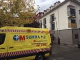 Una ambulancia del SUMMA