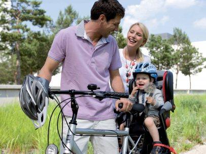 ¿Cómo transportar en bici a un menor de edad?