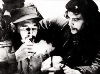 Fidel y el 'Che'