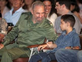 Fidel con Elián