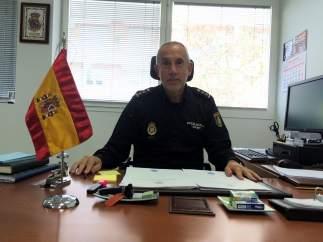 Florentino Marín Parra, comisario jefe de Huelva