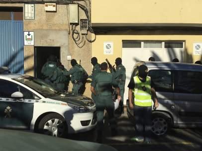 Operación antiterrorista en Canarias