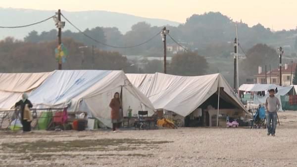 Campo de Refugiados de Katsikas en Grecia.