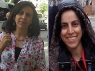 Las dos periodistas detenidas