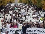 Manifestación en Granada