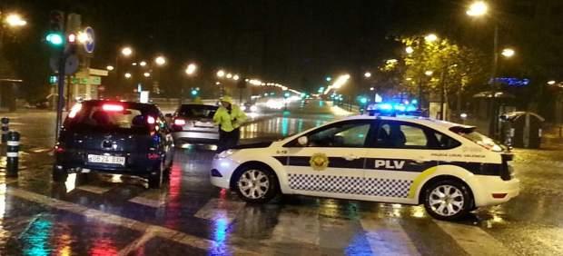 Temporal de lluvias en la Comunidad Valenciana