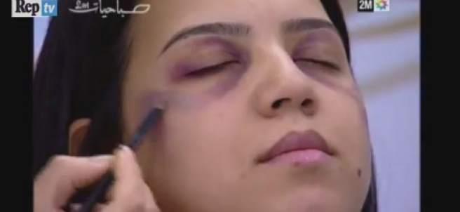 Marruecos enseña a las maltratadas a maquillar sus cardenales