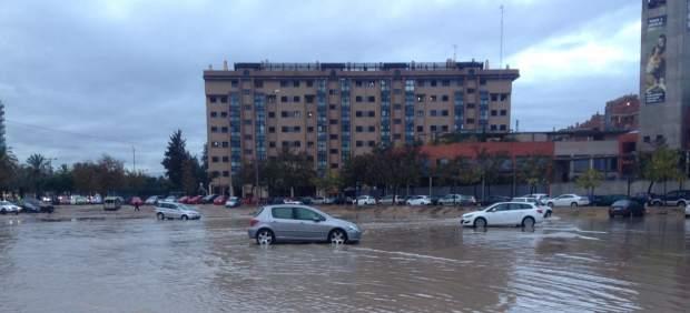 Episodio de fuertes lluvias en Valencia