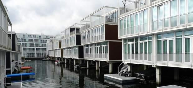 El barrio de Ijburg, en Amsterdam,