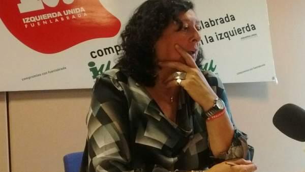 Teresa Fernández, teniente de alcalde de Fuenlabrada