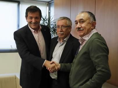 El PSOE y los sindicatos