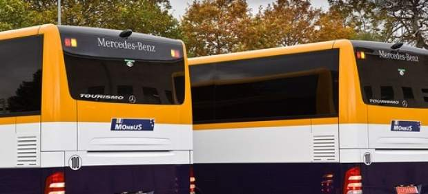 Flota de autobuses Monbus