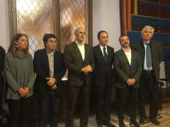Firma del acuerdo marco de instituciones catalanas de cooperación por el Líbano.