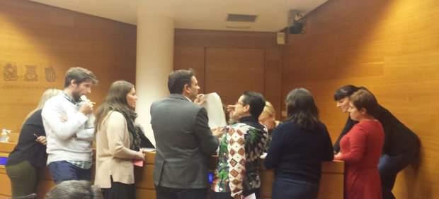 Los grupos debaten sobre el plan de trabajo de la comisión de Ciegsa