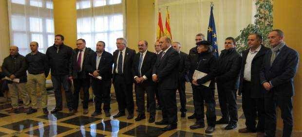 El Gobierno de Aragón se reúne con Cooperativas Agroalimentarias de Aragón