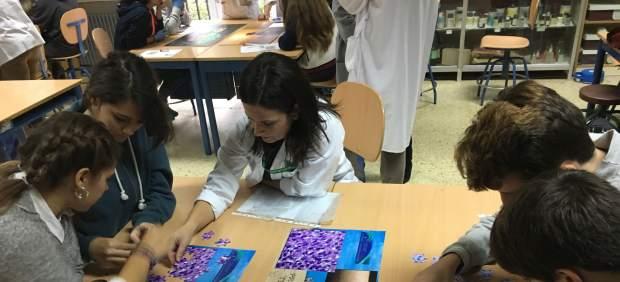 Jornada con escolares de ESO