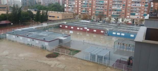 El Colegio 103 de Valencia vuelve a inundarse
