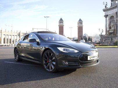 El Tesla que utiliza Cabify