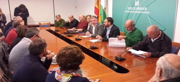Reunión sobre el Plan de Agricultura ecológica