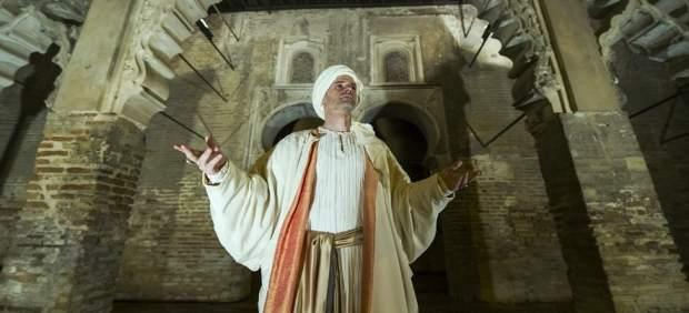 Al Mutamid, durante la representación en el Real Alcázar de Sevilla