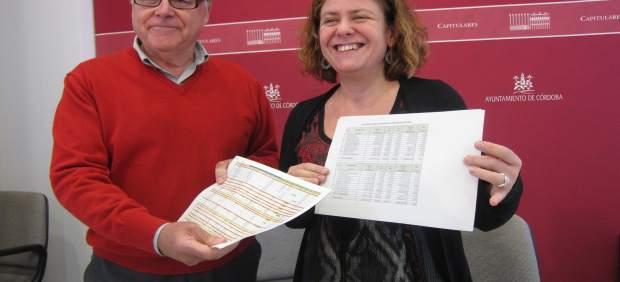 Emilio Aumente y Alba Doblas presentan el presupuesto