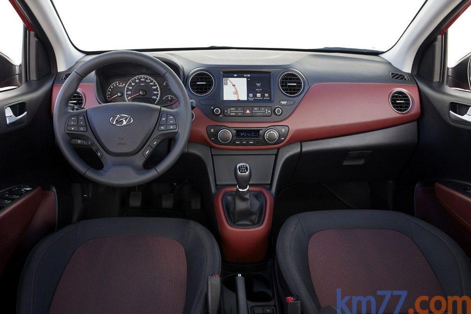 Interior del Hyundai i10