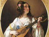 'The Lute Player', 1838