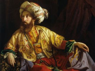 'The Emir of Libanon' (Portrait of Count Edmund Zichy), 1843