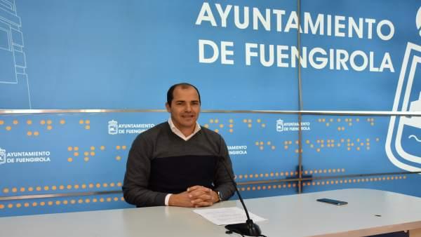 El concejal de Obras e Infraestructuras de Fauengirola, José Sánchez.