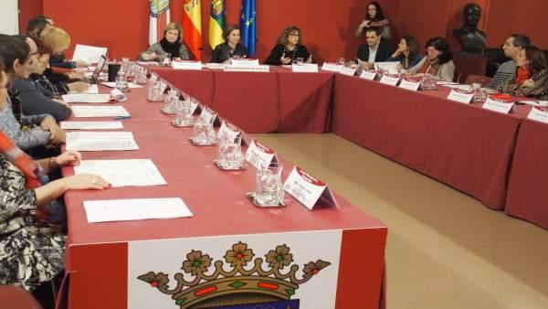 Consejo Municipal de la Discapacidad con Gamarra