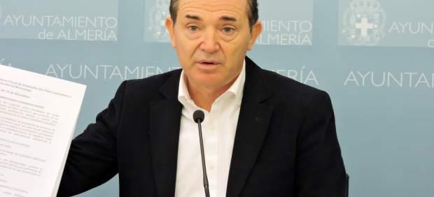 El portavoz del Grupo municipal del psoe de Almería