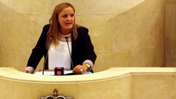 La diputada del PP Isabel Urrutia
