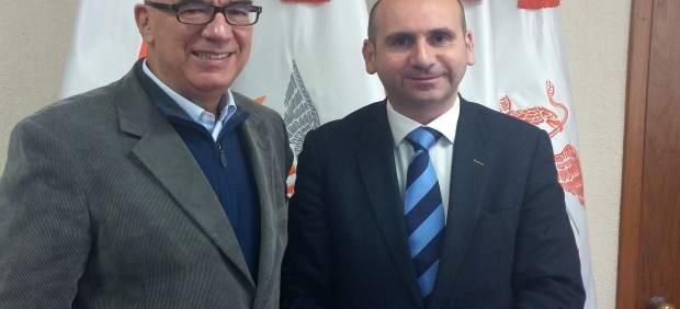 Francisco Conejo junto con Dante Delgado