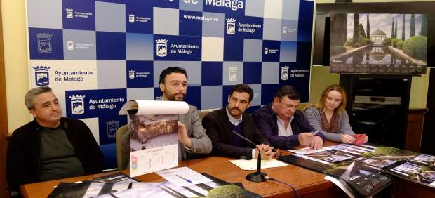 El concejal Raúl Jiménez durante la presentación.