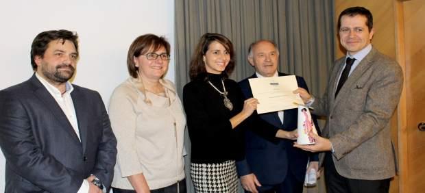 Entrega del premio José Lorca.