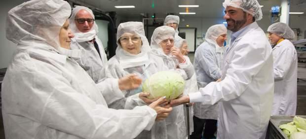 Visita de Informacu Rioja a dos proveedores de Mercadona