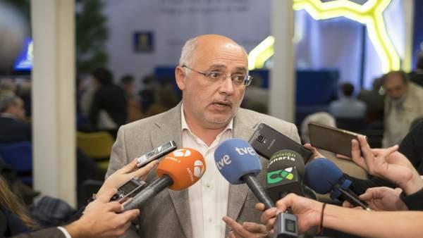 El presidente del Cabildo de Gran Canaria