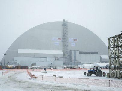Nuevo sarcófago de Chernóbil