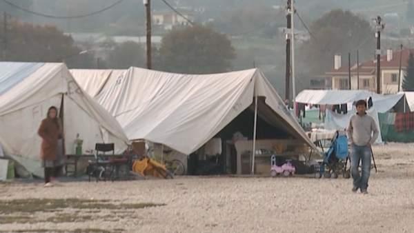 Campo de Refugiados de Katsikas en Grecia
