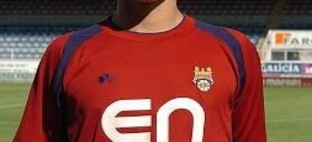 Filipe Machado, con la camiseta del Pontevedra Club de Fútbol