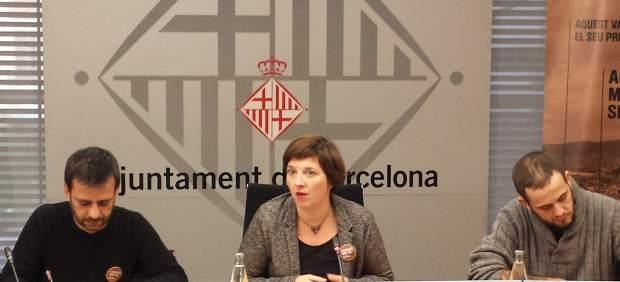 Jesús Ruiz, Laia Ortiz y Albert Sales.